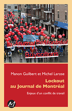 Lockout au Journal de Montreal - couverture