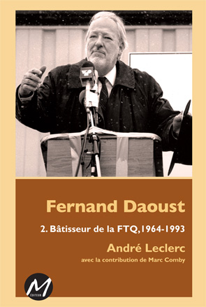 Fernand Daoust, couverture