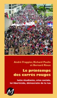 Le printemps des carres rouges - couvertures