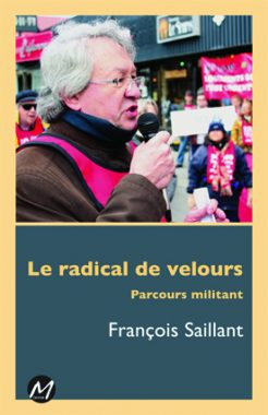 Le radical de velours - couverture